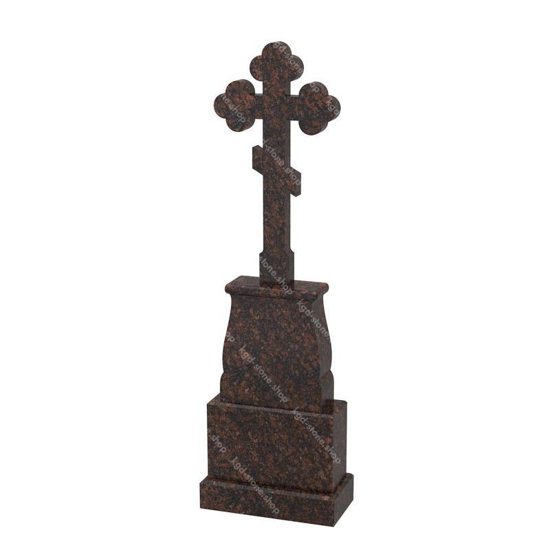 Крест на могилу из гранита дымовский купить онлайн цена и фото