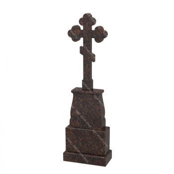 Комплект с крестом из дымовского гранита