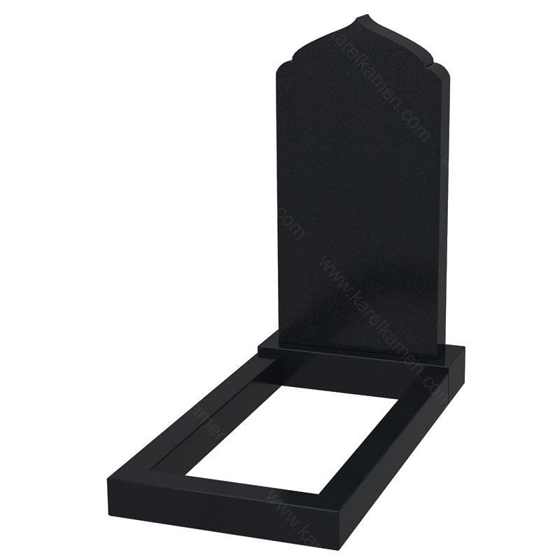 Купить памятник из черного гранита Карелия цена