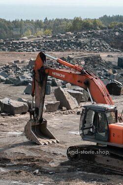 Добыча гранита габбро диабаза в Карелии карьер